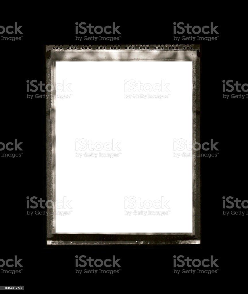 Polaroid Type 55 Film Rebate stock photo