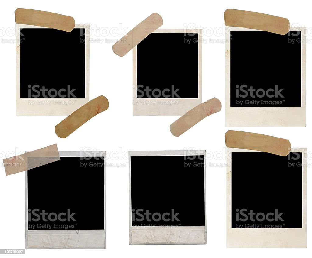 polaroids royalty-free stock photo