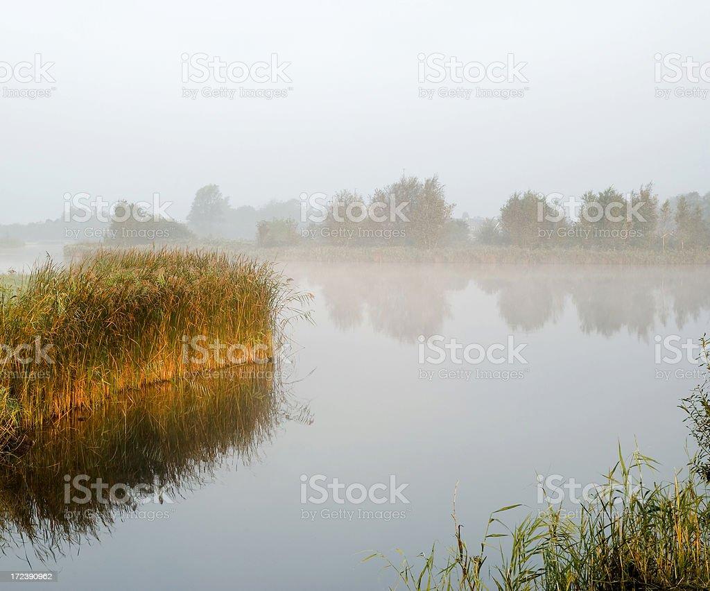 Polder Lake royalty-free stock photo