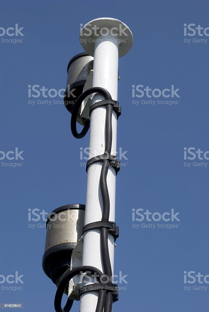Pole stock photo