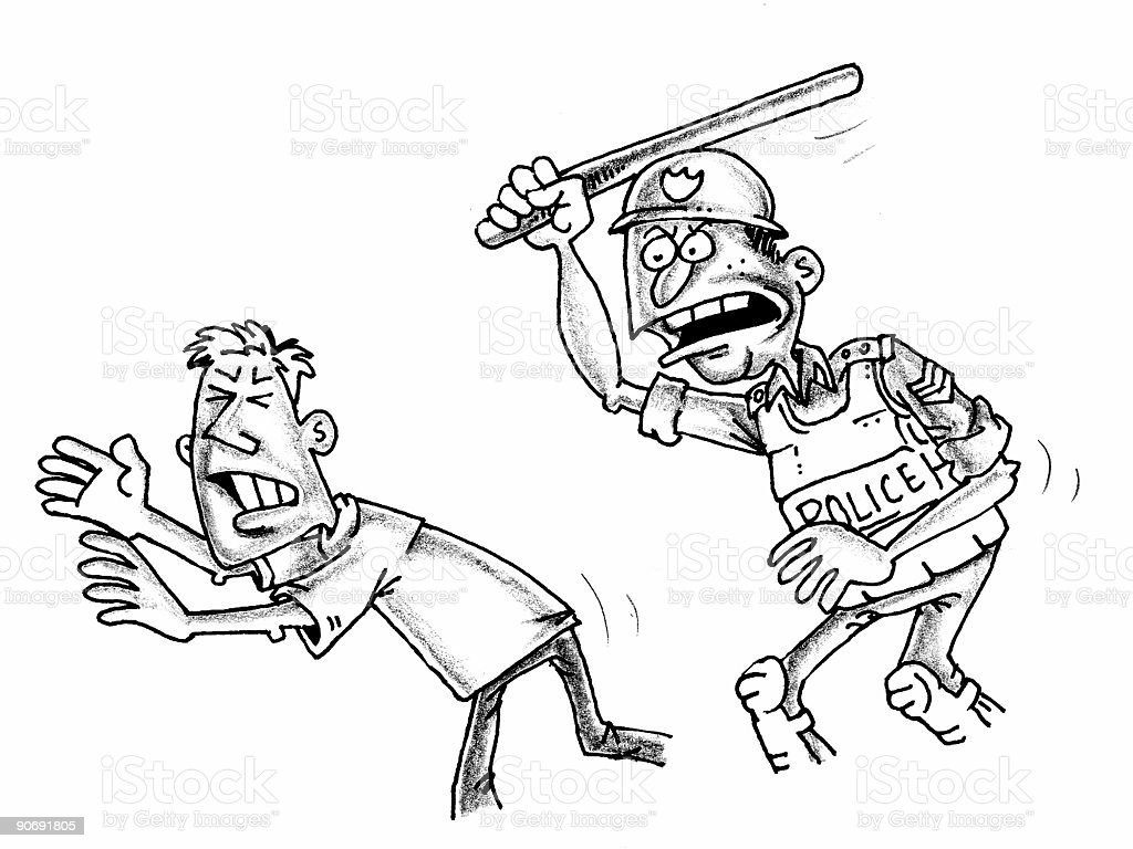 police action stock photo