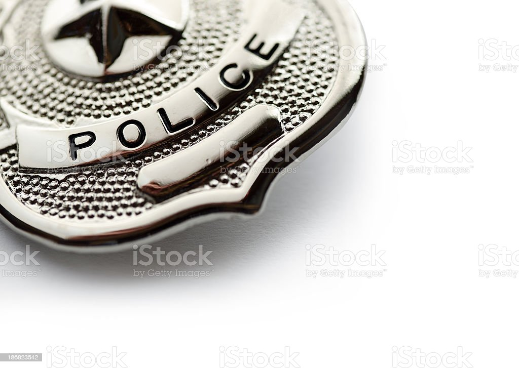 Police Badge royalty-free stock photo