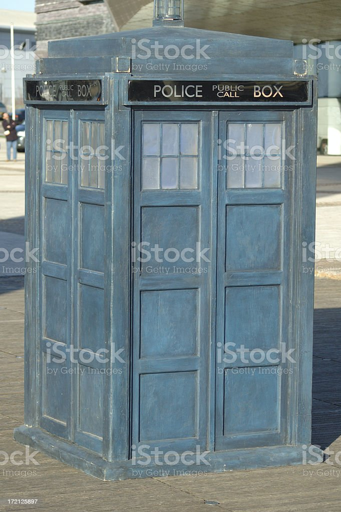 police box royalty-free stock photo
