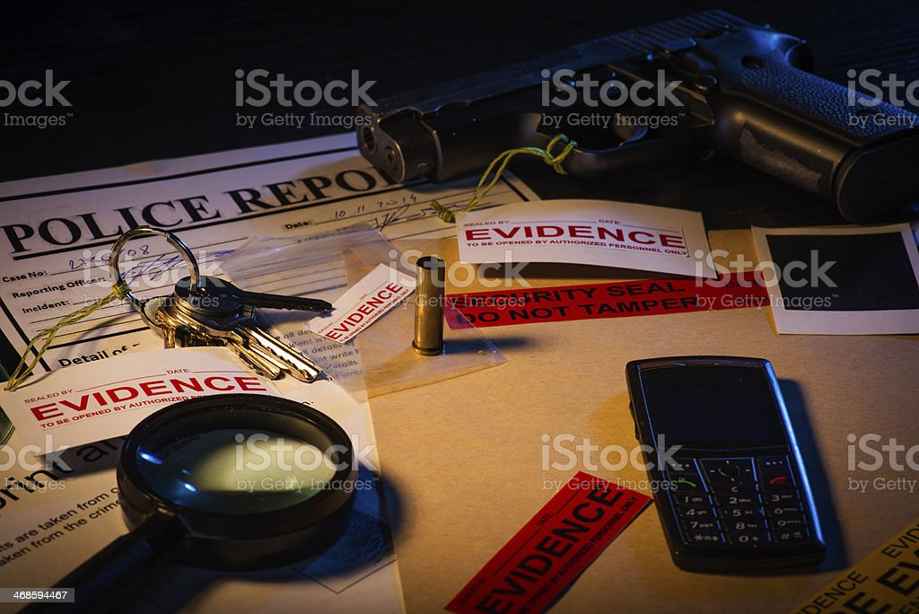 Police business stock photo