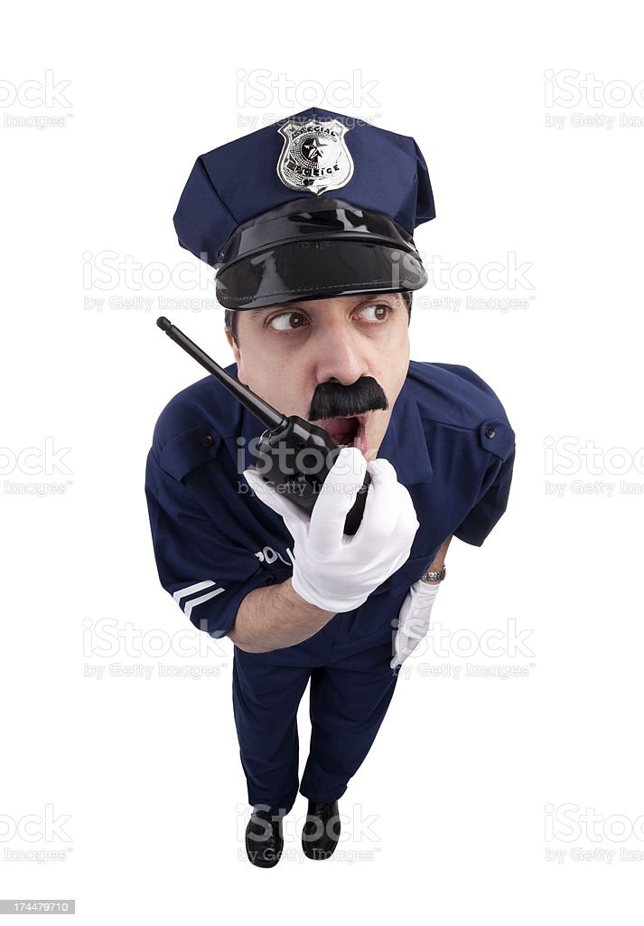 Police Call royalty-free stock photo