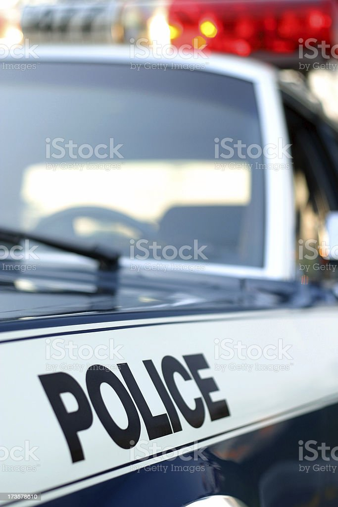 Police Car royalty-free stock photo