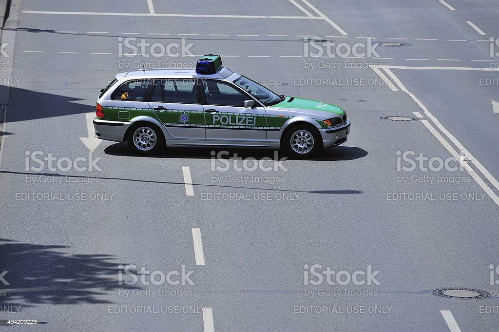 Police car royalty-free stock photo