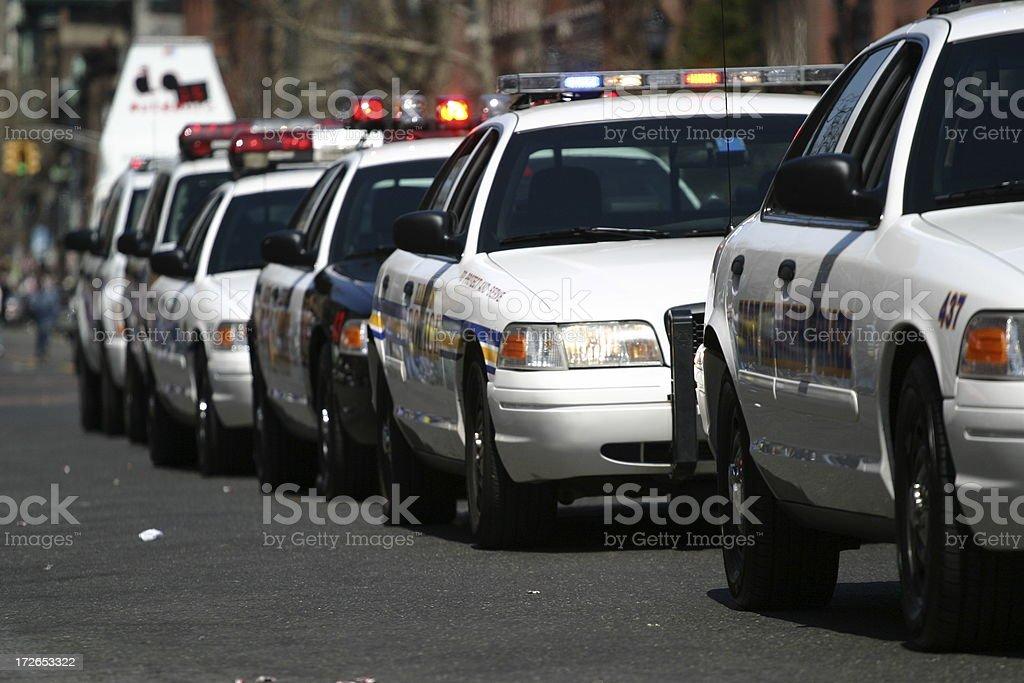 Police Cars stock photo