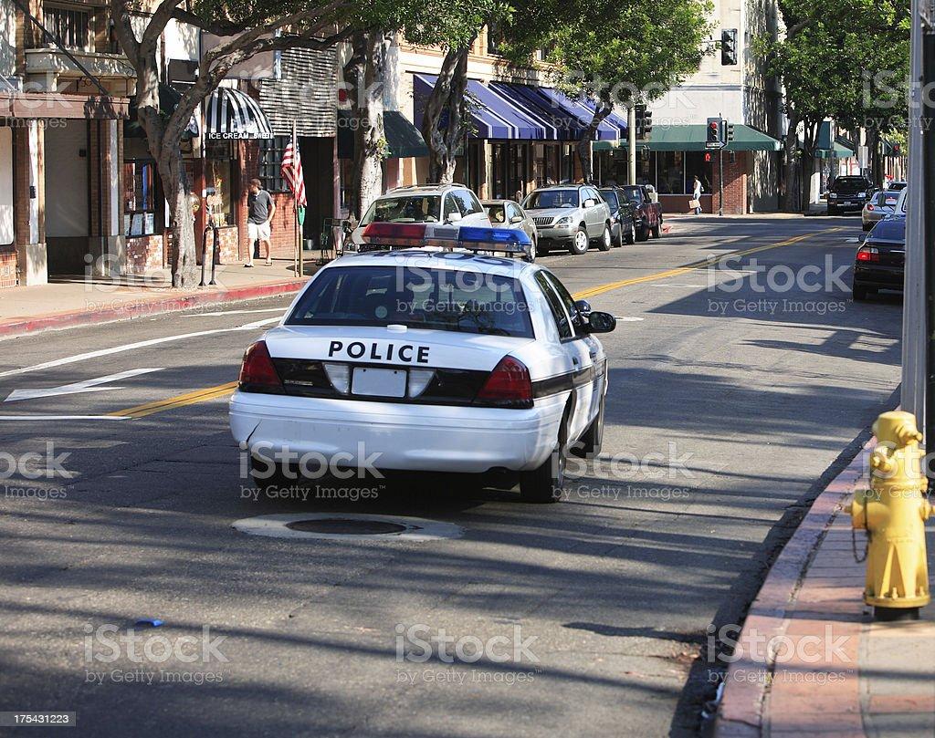 Police Cruiser royalty-free stock photo