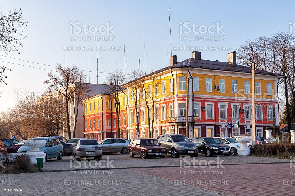 Police Department. Kineshma, Russia stock photo