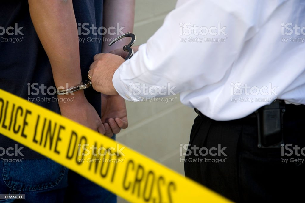 Police Detective royalty-free stock photo