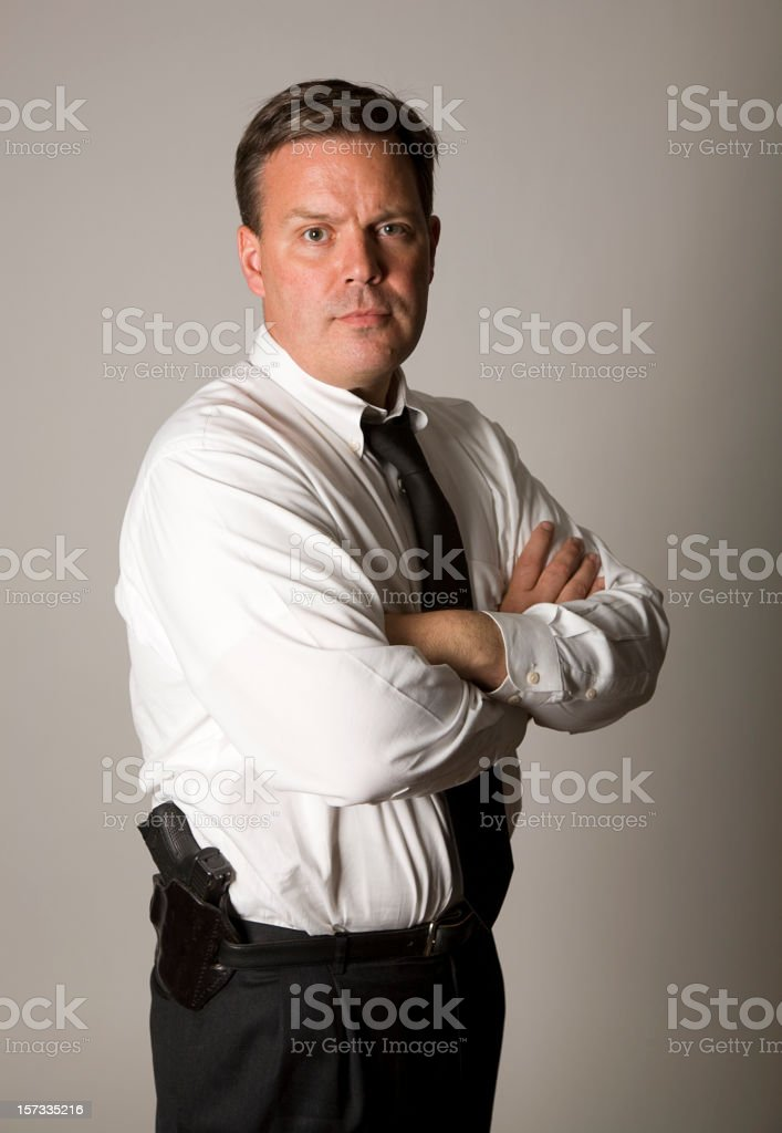 Police Detective stock photo