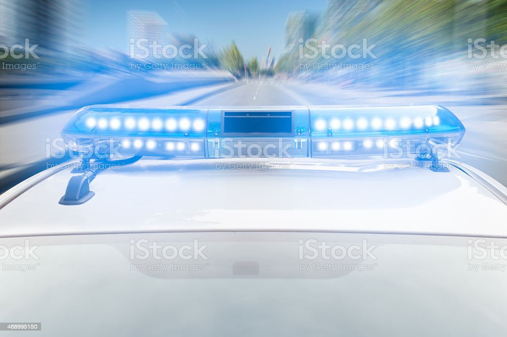 police fast stock photo