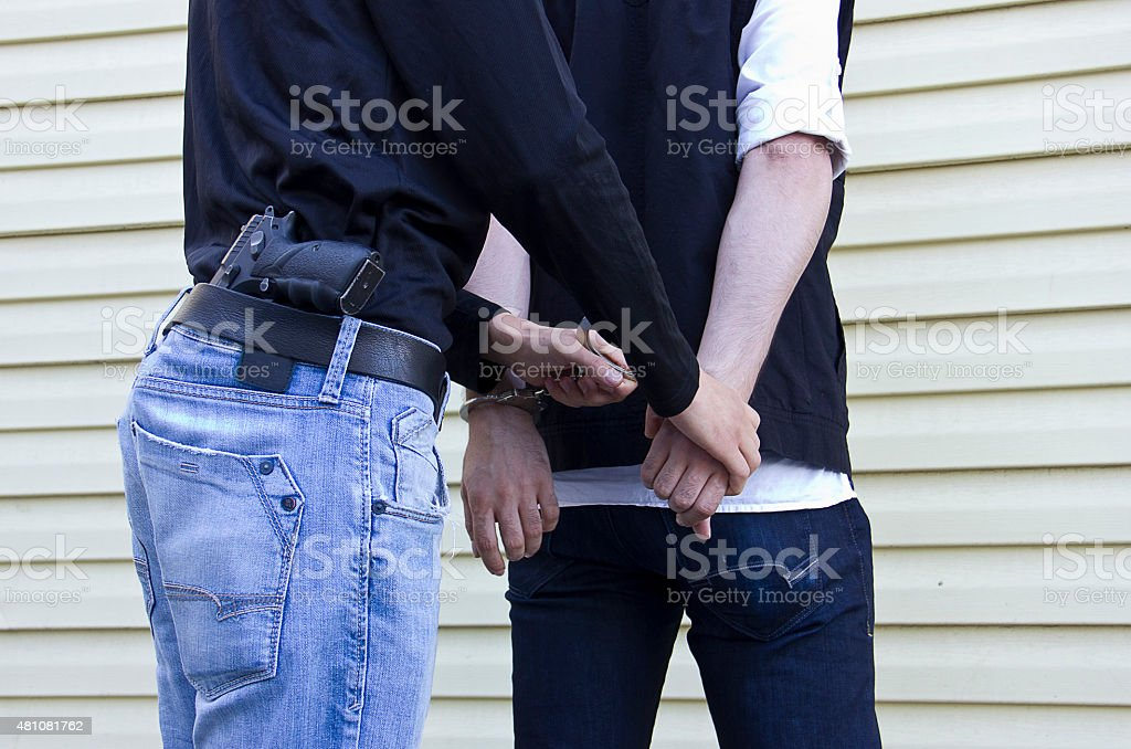 Police Force stock photo