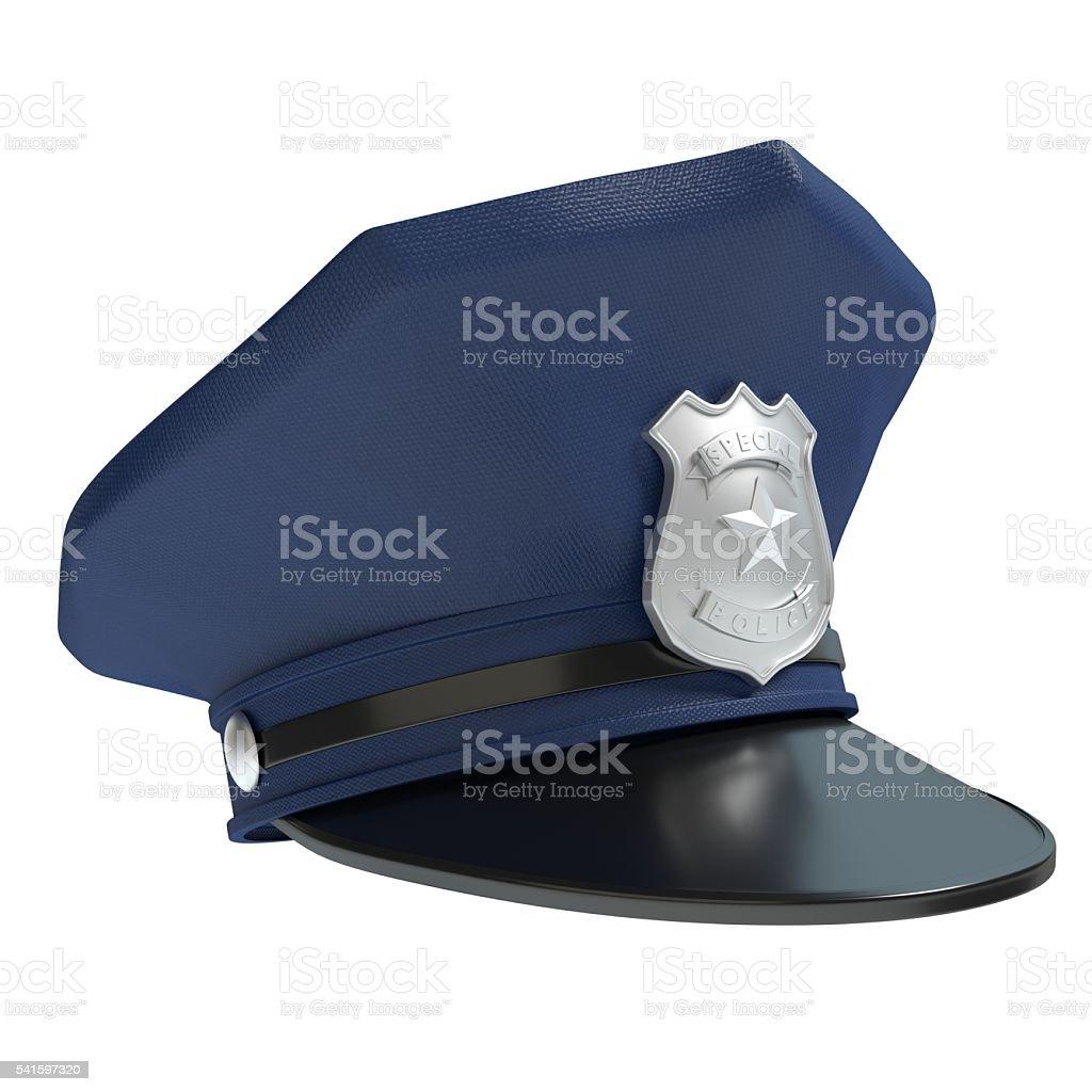 Police Hat stock photo