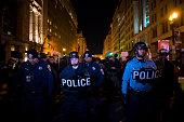 Police in Washington DC in riot gear