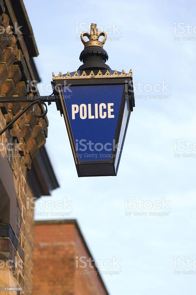 police lantern royalty-free stock photo
