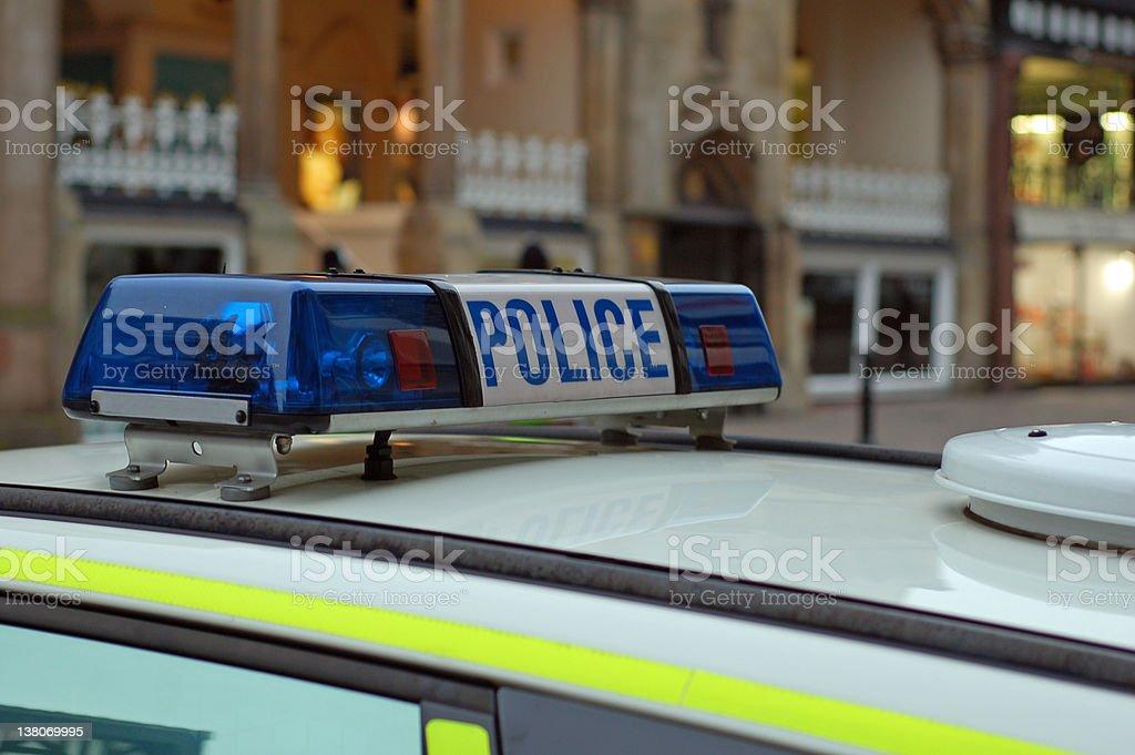 Police Lights royalty-free stock photo