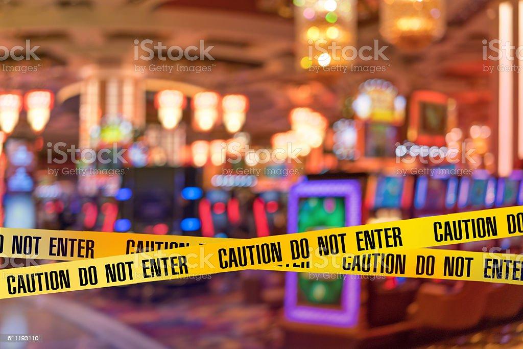 Police Line Do Not Cros stock photo