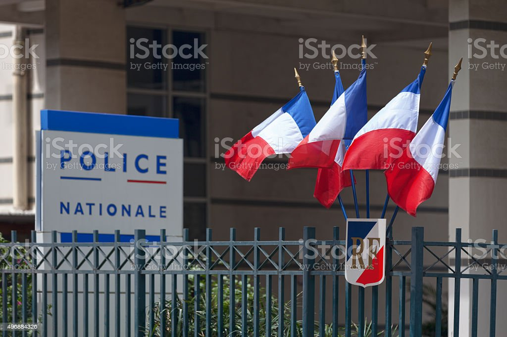 Police Nationale stock photo