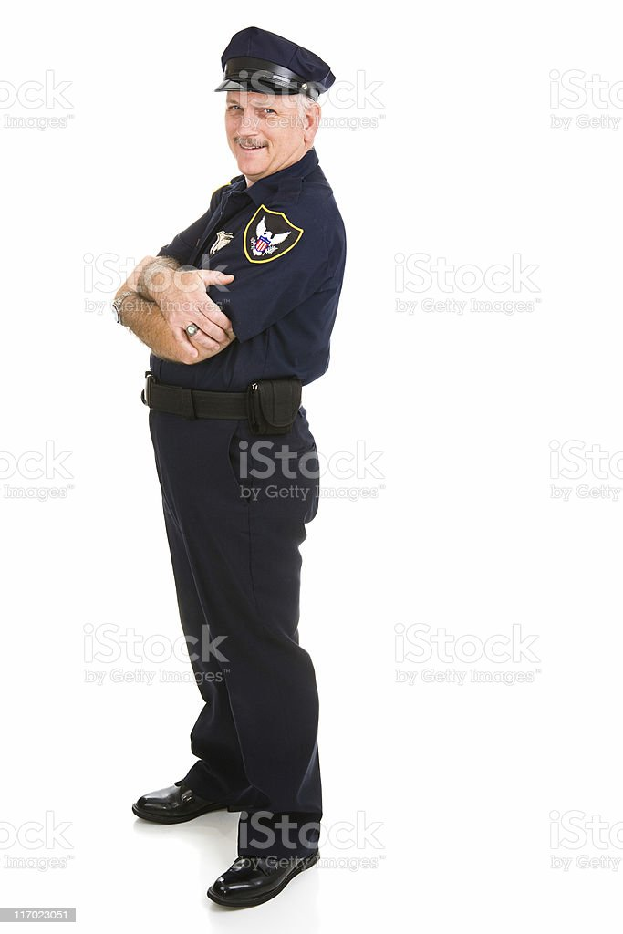 Police Officer Design Element royalty-free stock photo