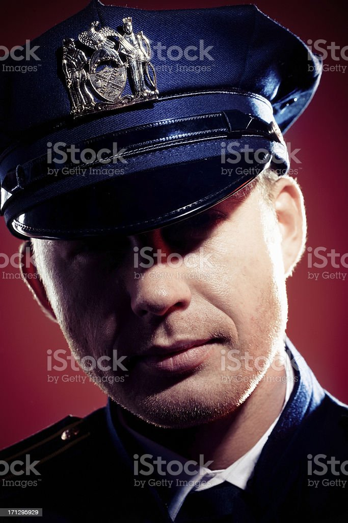 Police Officer royalty-free stock photo