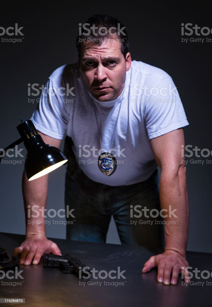 Police Officer stock photo