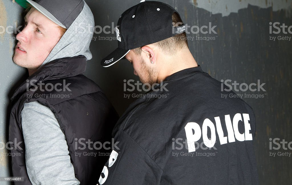 Police Officer working royalty-free stock photo