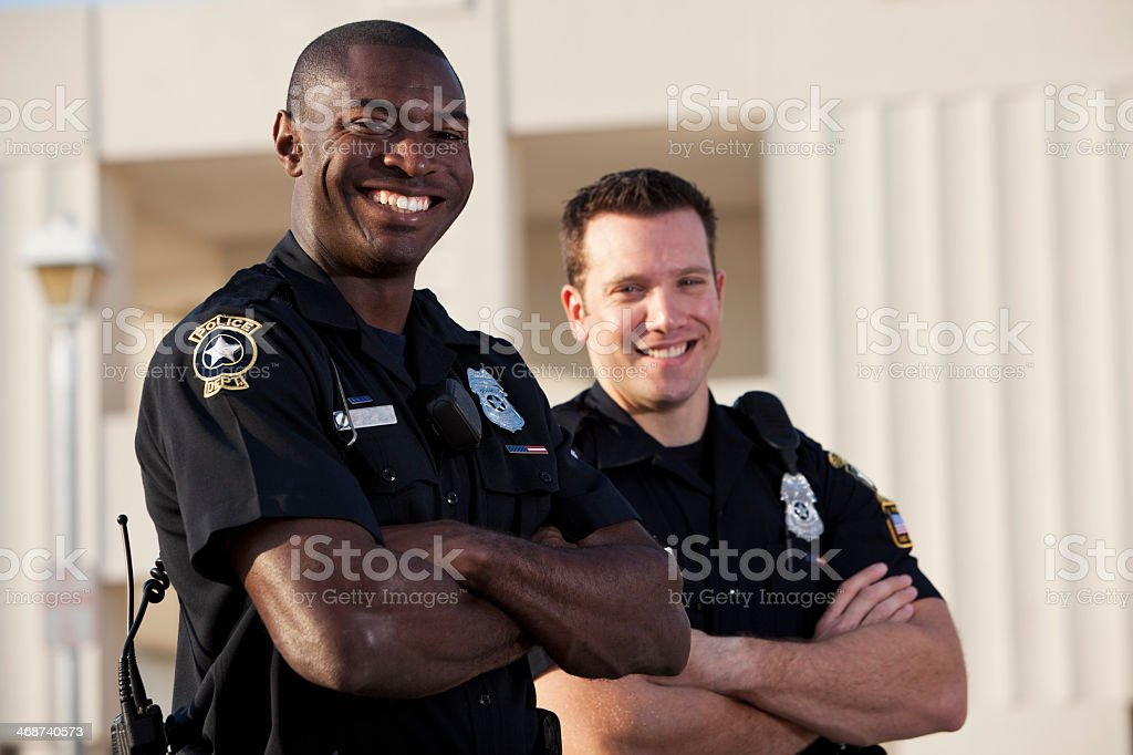 Police officers royalty-free stock photo