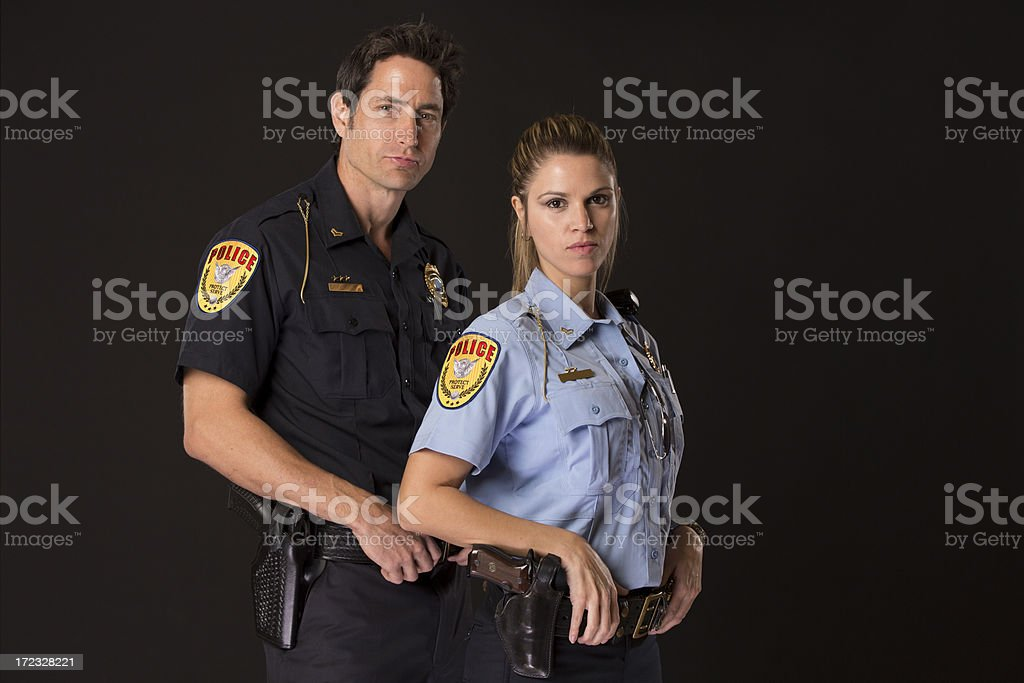 Police Partners royalty-free stock photo