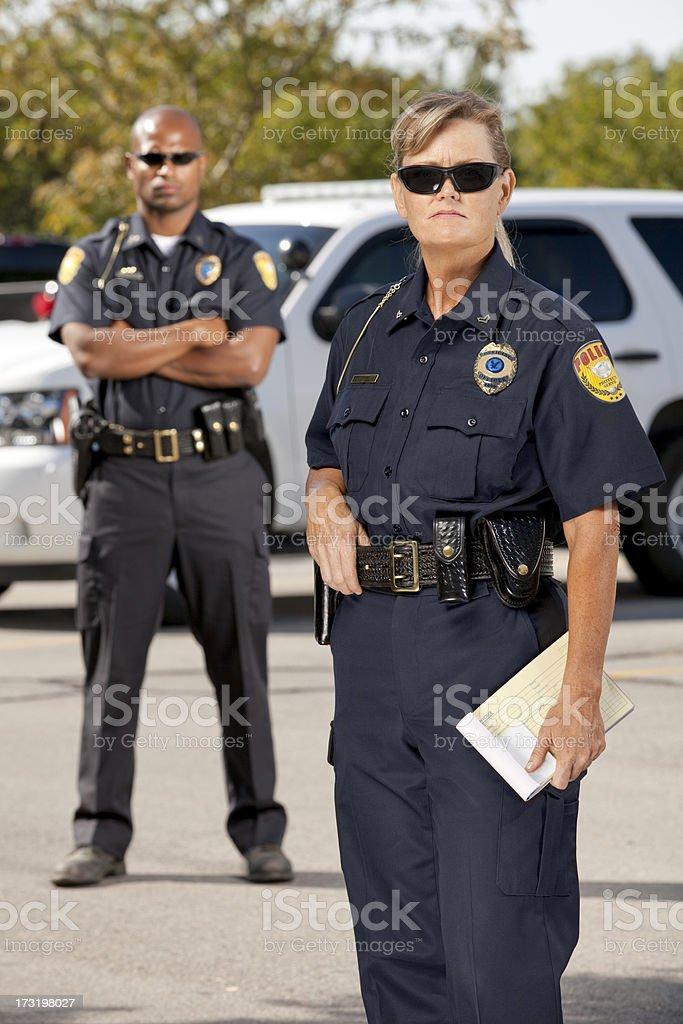 Police Partners stock photo