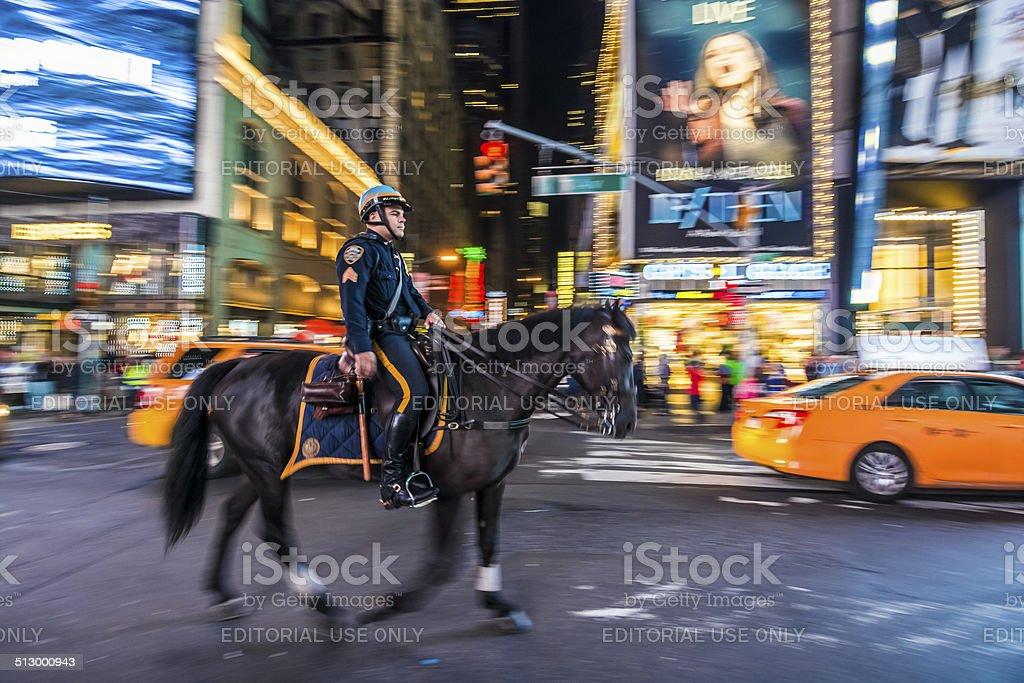NYC police stock photo