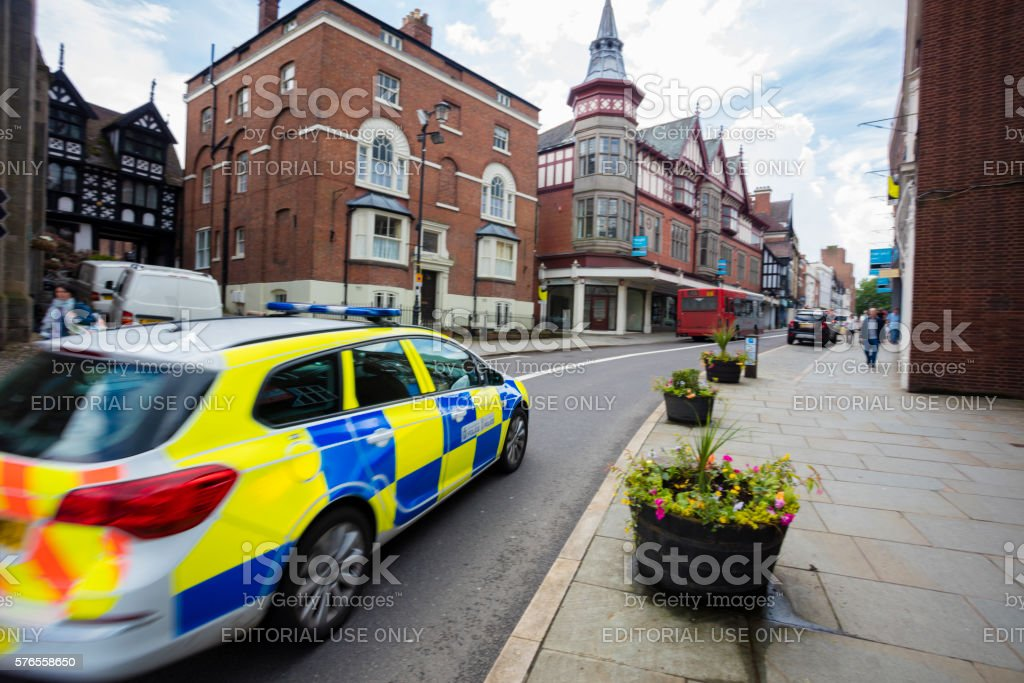 UK Police stock photo