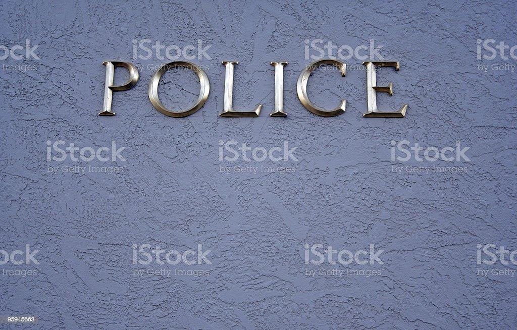 Police royalty-free stock photo