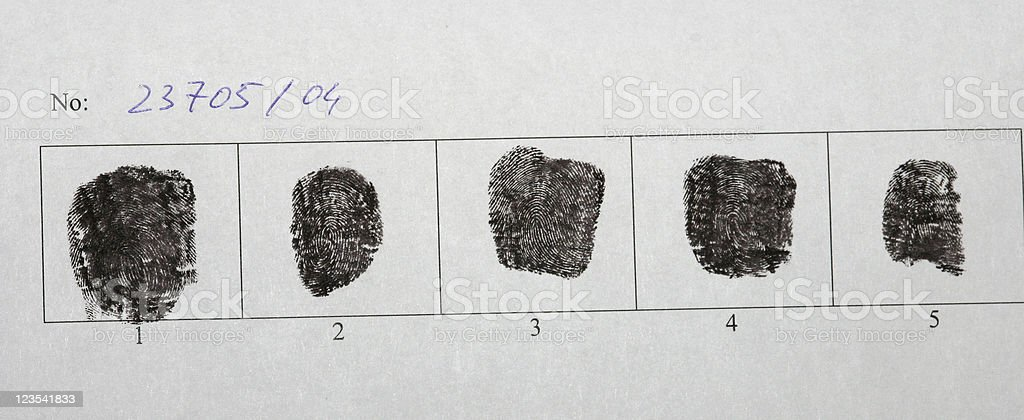 Police record royalty-free stock photo