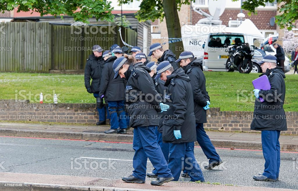 Police Search stock photo