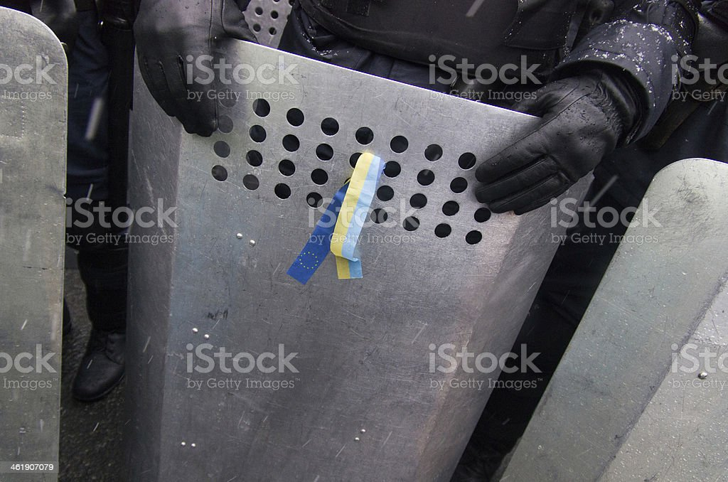 Police special forces equipment royalty-free stock photo