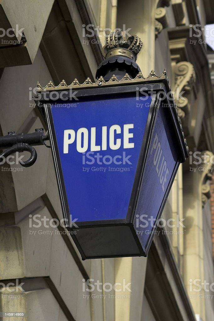 Police Station royalty-free stock photo