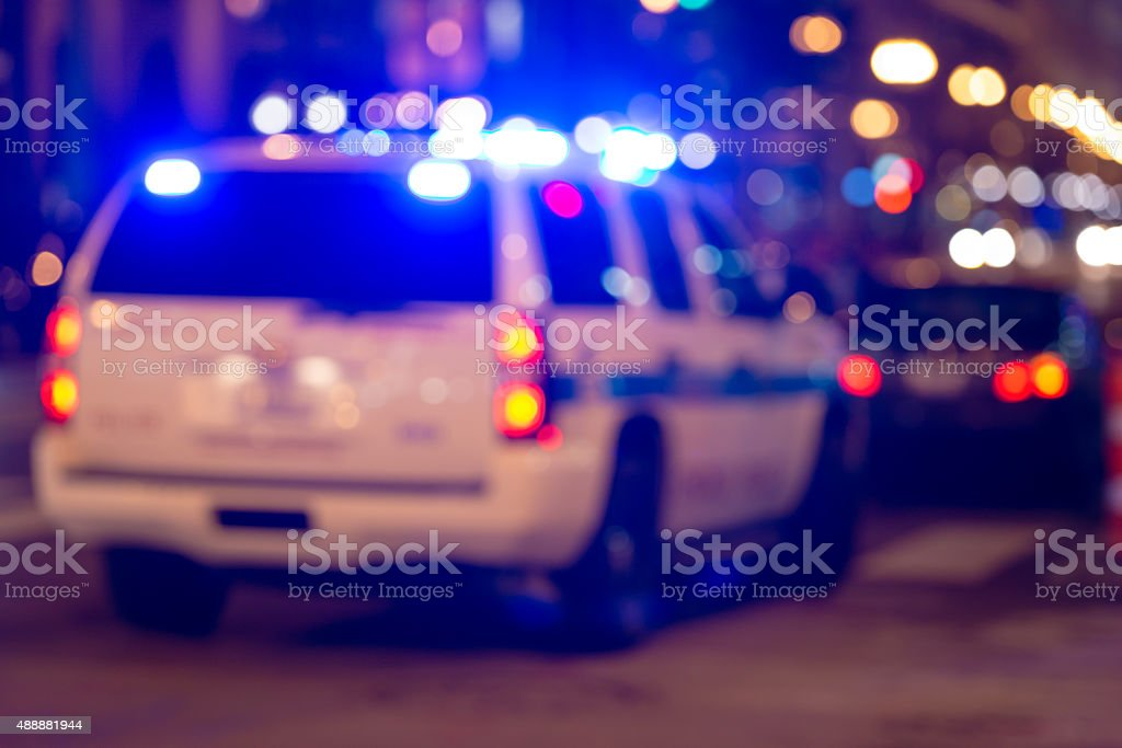 Police Stop stock photo