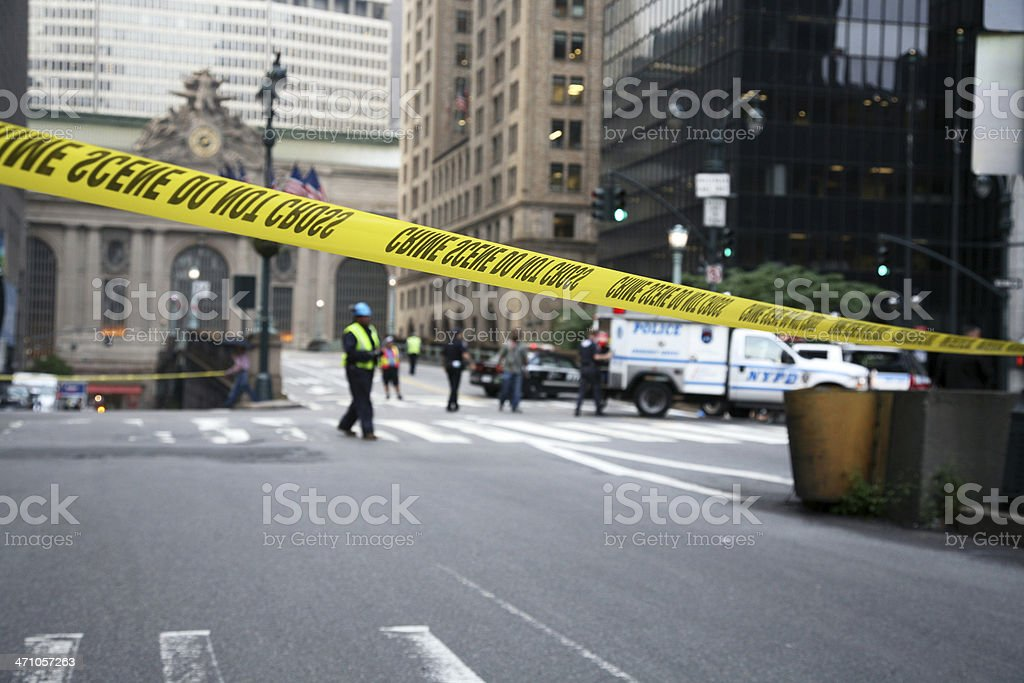Police Tape royalty-free stock photo