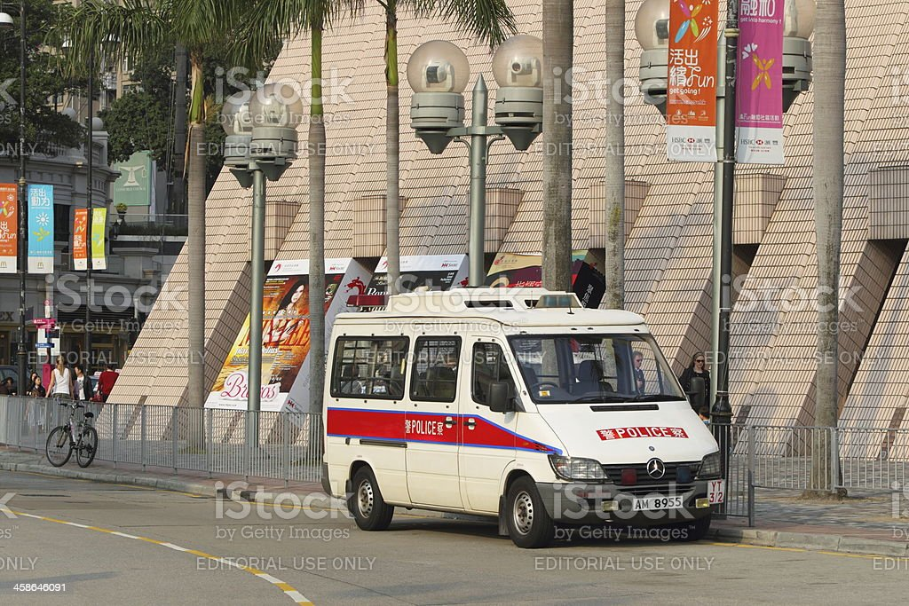 Police Vehicle royalty-free stock photo