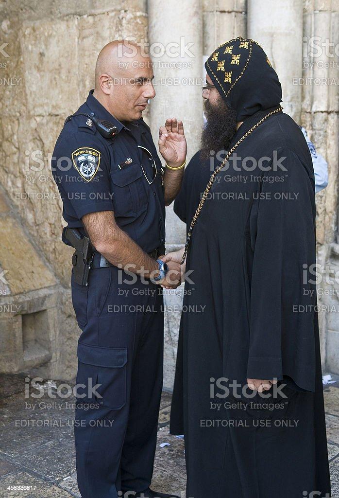policeman 、牧師 ロイヤリティフリーストックフォト