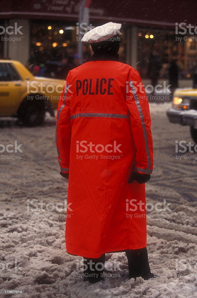 Policeman royalty-free stock photo