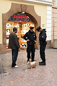 Policemen in Prague