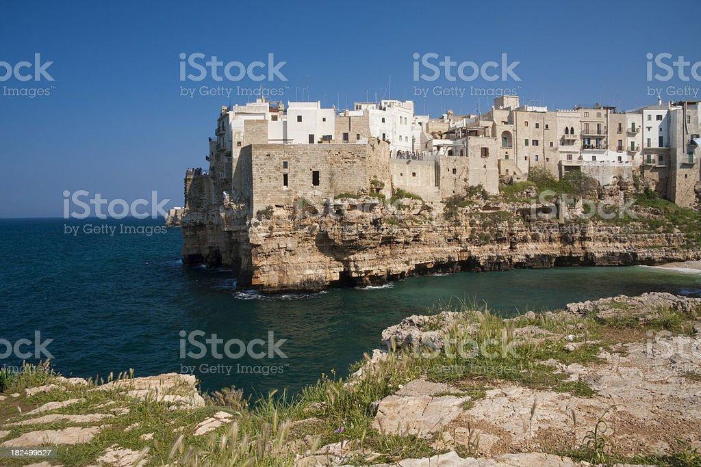 Polignano a Mare, Apulia stock photo