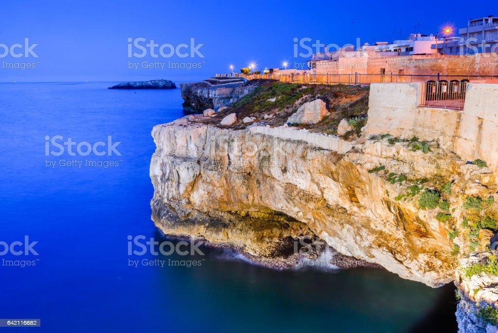 Polignano a Mare, Italy - Puglia stock photo