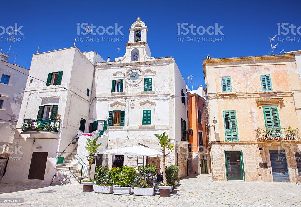 Polignano a Mare, Italy stock photo