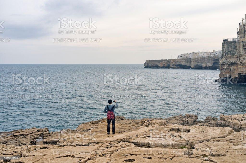 Polignano a Mare stock photo