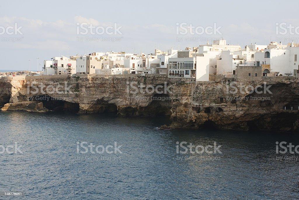 Polignano a Mare, Puglia, Italy stock photo
