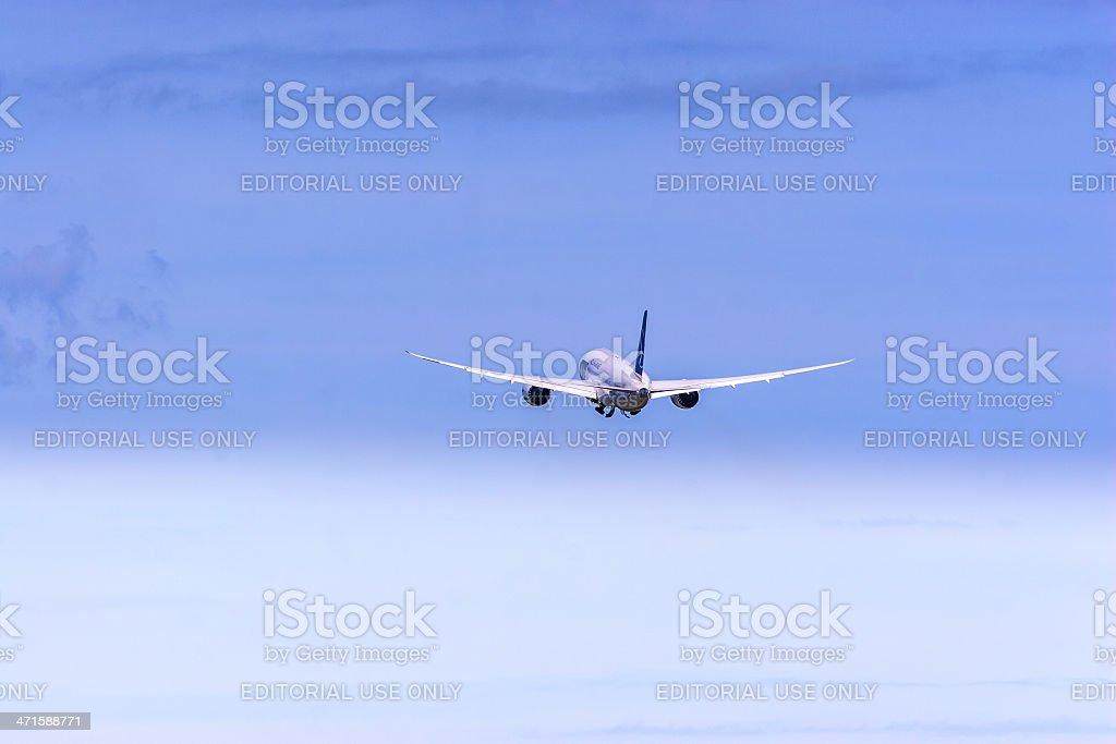 Polish Airlines LOT Boeing 787 Dreamliner stock photo
